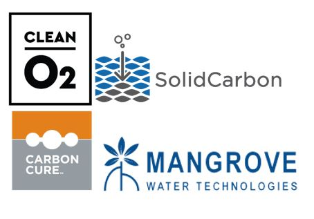 SolidCarbon and Mangrove Water Technologies logos